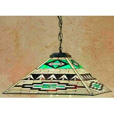 <strong>Meyda Tiffany</strong> Mission Southwest Valencia 3 Light Pendant
