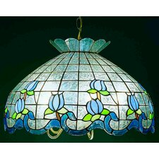 Roseborder Ice 5 Light Pendant