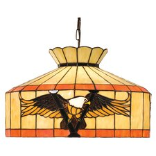 Victory Eagle 1 Light Swag Pendant
