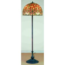 <strong>Meyda Tiffany</strong> Jadestone Scroll Floor Lamp