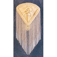 <strong>Meyda Tiffany</strong> Pontiff Fabric with Fringe Night Light