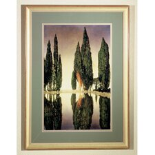 <strong>Meyda Tiffany</strong> Maxfield Parrish Reservoir Framed Art