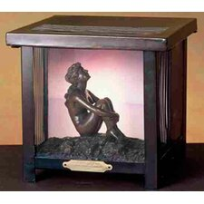 <strong>Meyda Tiffany</strong> Maxfield Parrish Stars Lantern Shadowbox Table Lamp