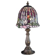 Tiffany Flowering Lotus Accent Table Lamp