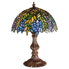 <strong>Meyda Tiffany</strong> Tiffany Honey Locust Accent Table Lamp