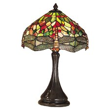 Tiffany Hanginghead Dragonfly Accent Table Lamp