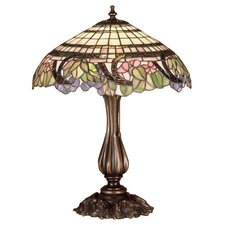<strong>Meyda Tiffany</strong> Tiffany Floral Handel Grapevine Table Table Lamp
