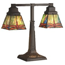 <strong>Meyda Tiffany</strong> Prairie Dragonfly Table Lamp