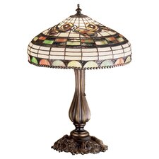 <strong>Meyda Tiffany</strong> Nouveau Tiffany Edwardian Accent Table Lamp
