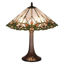 <strong>Meyda Tiffany</strong> Tulip and Fleurs Table Lamp