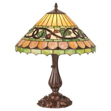 <strong>Meyda Tiffany</strong> Victorian Tiffany Fruit Ivy Berry Table Lamp
