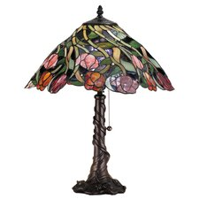 Tiffany Nouveau Spiral Tulip Table Lamp