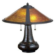 "Van Erp 21"" H Mica Table Lamp"