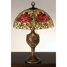 Rose Bouquet Accent Table Lamp