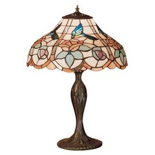 <strong>Meyda Tiffany</strong> Tiffany Hummingbird Table Lamp