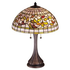 <strong>Meyda Tiffany</strong> Turning Leaf Table Lamp