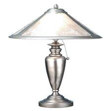 "Van Erp 23"" H Mica Table Lamp"