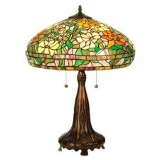 <strong>Meyda Tiffany</strong> Tiffany Nouveau Peony Table Lamp