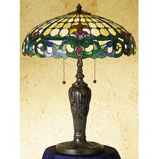 <strong>Meyda Tiffany</strong> Duffner and Kimberly Colonial Table Lamp