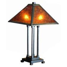 "Van Erp 24"" H Mica Table Lamp"