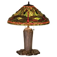 <strong>Meyda Tiffany</strong> Tiffany Dragonfly Table Lamp