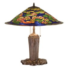 <strong>Meyda Tiffany</strong> Tiffany Pond Lily Table Lamp