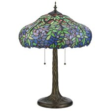 "Duffner and Kimberly Laburnum 28"" H Table Lamp with Bowl Shade"
