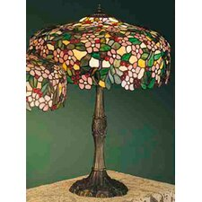 <strong>Meyda Tiffany</strong> Tiffany Cherry Blossom Table Lamp