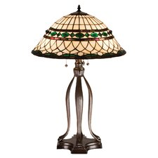 <strong>Meyda Tiffany</strong> Tiffany Roman Table Lamp