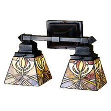 Glasgow Bungalow 2 Light Wall Sconce