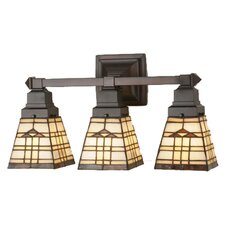Arrowhead Mission 3 Light Vanity Light