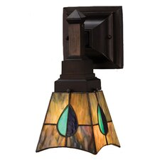 Mackintosh Leaf 1 Light Wall Sconce