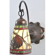 <strong>Meyda Tiffany</strong> Pinecone Dome 1 Light Wall Sconce