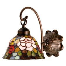 <strong>Meyda Tiffany</strong> Tiffany Rosebush 1 Light Wall Sconce