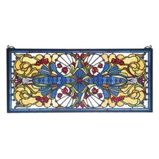 Victorian Sonja Transom Stained Glass Window