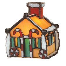 Gingerbread House Accent Table Lamp