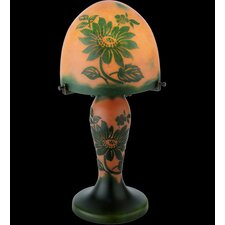 Floral Galle Clarissa Lighted Base Table Lamp