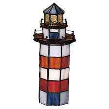 "Nautical Hilton Head Lighthouse 10"" H Table Lamp"