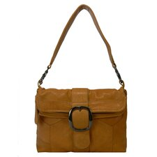 Ava Cris Cris Front Buckel Shoulder Bag