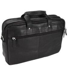 Heritage Leather Laptop Briefcase
