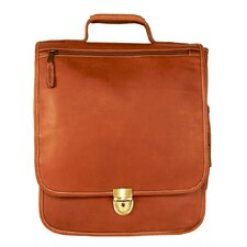 Heritage Hollywood Leather Laptop Briefcase
