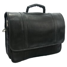 Heritage Sun Valley Leather Laptop Briefcase