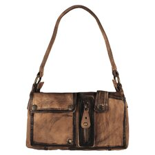 Brushstroke Jordan Triple Pocket Small Shoulder Bag