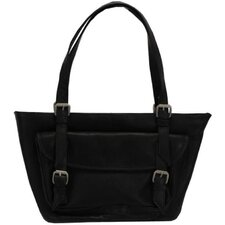<strong>Latico Leathers</strong> Millie Mediumtop Zip Tote Bag