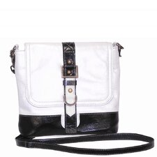 <strong>Latico Leathers</strong> Vickie Metallic Block Crossbody Shoulder Bag