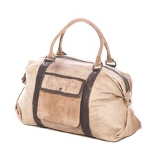 "Brushstroke 21"" Leather Felicia Weekender"