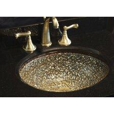 Pebble Undermount / Drop-In Bathroom Sink