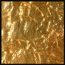 """4"""" x 4"""" Glass Tile in 24K Gold"""
