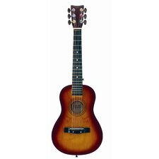 Sunburst Acoustic Guitar