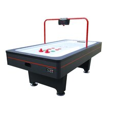 Weston 2 8' Air Hockey Table with Overhead Scorer